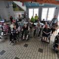 Don de matériel à l'EHPAD Le Grand Bosquet à Villers Cotterêts